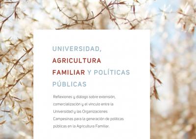 Universidad, Agricultura familiar y políticas públicas