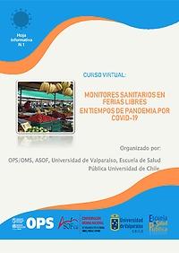 Monitores sanitarios en ferias libres en tiempos de pandemia por COVID- 19