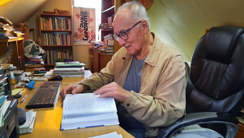 Facultad de Ciencias Agronómicas despide al profesor Roberto Hernández Aracena